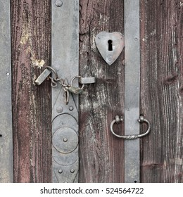 Vintage padlock.