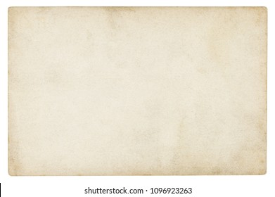 Vintage paper background isolated - (clipping path included)  - Shutterstock ID 1096923263