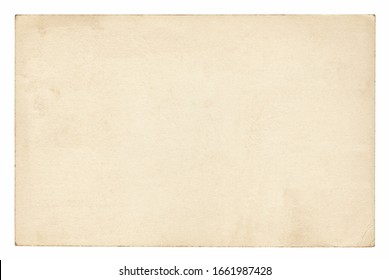 Vintage paper background isolated - clipping path included