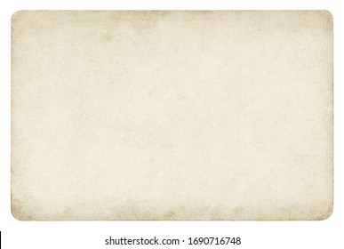 Vintage paper background isolated - (clipping path included)  - Shutterstock ID 1690716748