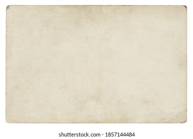Vintage paper background isolated - (clipping path included)	 - Shutterstock ID 1857144484