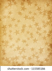vintage paper decorated with  stars