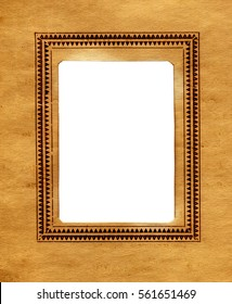 Vintage Paper With a Frame for Photography