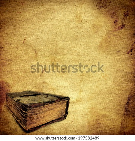 vintage paper template old book stock photo edit now 197582489