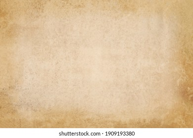 Vintage paper texture background, grunge old retro rustic cardboard clean brown empty blank space page with fiber pattern of kraft paper for text creative, backdrop, wallpaper and any design