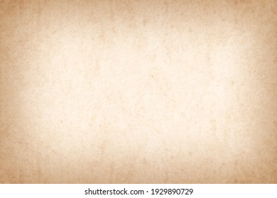 Vintage paper texture background, grunge old retro rustic cardboard clean brown empty blank space page
