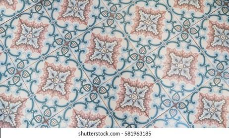 Vintage Peranakan Floral Tiles