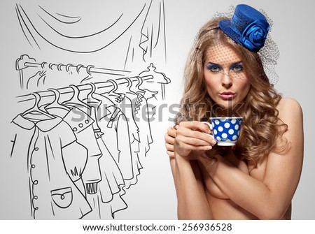 Join Vintage retro nude girl apologise