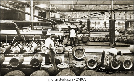 Vintage Photo of a Brewery
