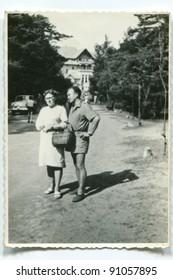 Vintage photo of couple (sixties)