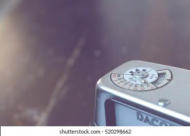 vintage photography camera (vintage grading look)