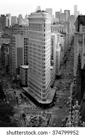 Vintage picture of the Flatiron building