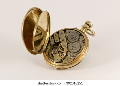 Vintage Pocket Watch 18K Gold