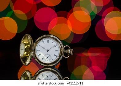 Vintage Pocket Watch and a Christmas Celebration