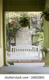 Vintage porch swing