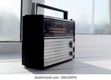 Vintage portable radio receiver