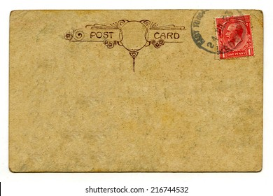 A vintage postcard over a plain white background.