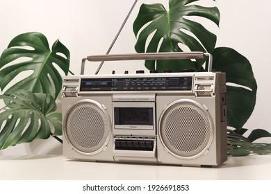 Vintage Radio Cassette Recorder Boombox Ghettoblaster