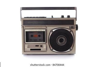 Vintage Radio cassette tape