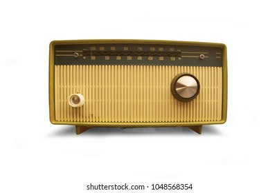 Vintage radio from the early sixties