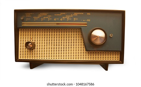 Vintage radio from the fifties