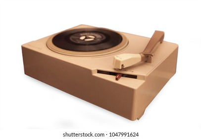 Vintage record player from the sixties