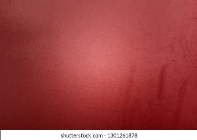 Vintage red  leather background texture, old and dirty