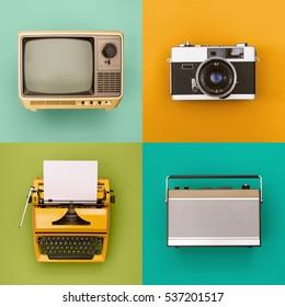 Vintage/Retro-Elektroniksatz