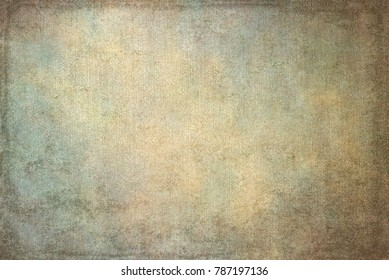 Vintage retro grungy background texture with frame