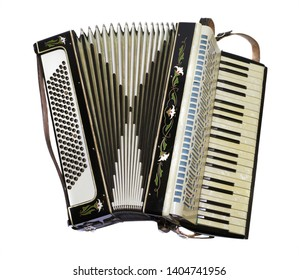 vintage retro music accordion concertina instrument