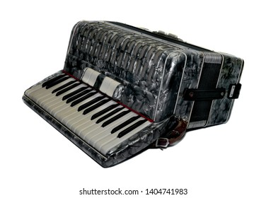 vintage retro music accordion concertina instrument