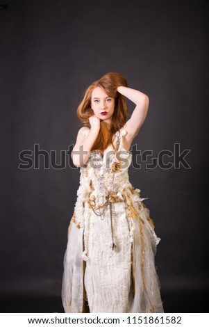 Art Nouveau Style Wedding Dresses