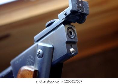 Vintage RWS Model 36 Pellet Rifle open breach