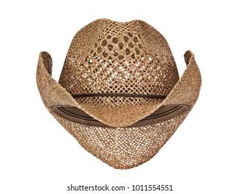 c9d542c6b0c Vintage seagrass straw latin american cowboy hat