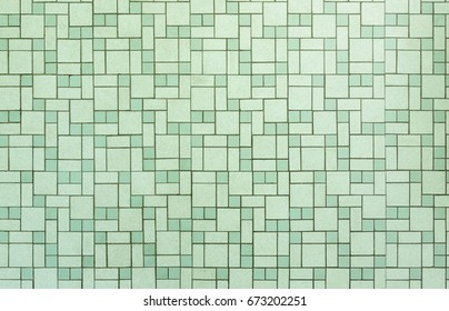 Vintage seamless 1950s bathroom tile background