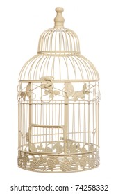 vintage shabby chic bird cage studio cutout