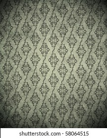 vintage shabby wallpaper (ornament background)