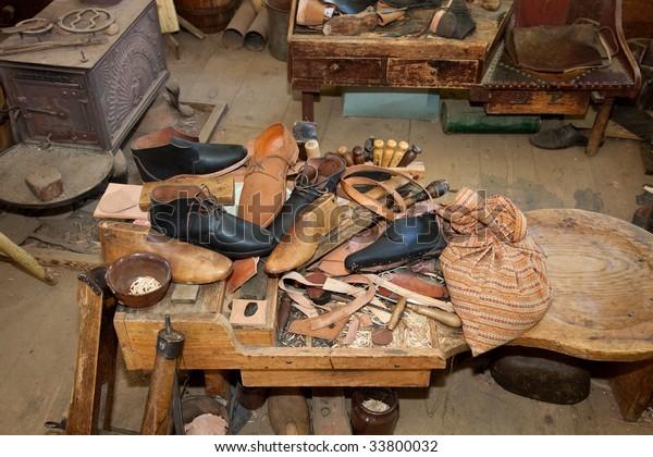 Vintage Shoe Repair Shop