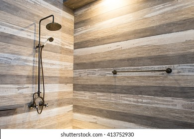 Vintage shower room
