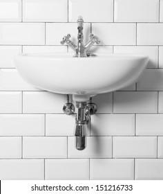 vintage sink and tap