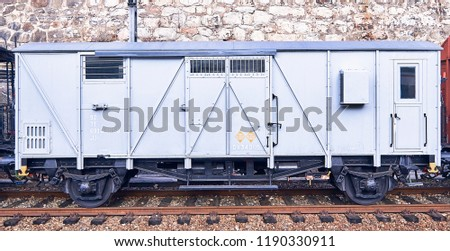 Vintage special train for