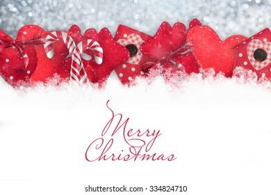 Vintage stile. Christmas decorations