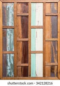 vintage stripe old wooden wall
