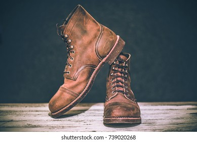 Vintage Style Leather Shoes
