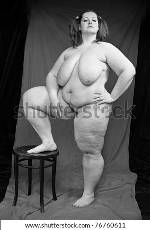 Over weight sexy naked woman sorry