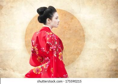 Red Kimono MILF