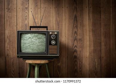 vintage style TV