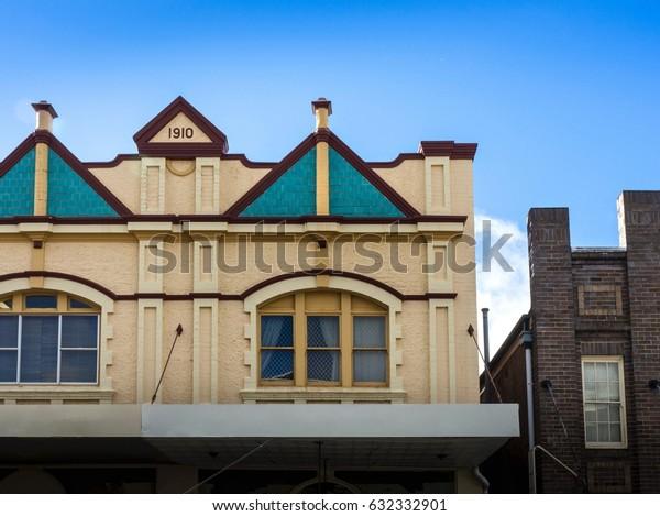 Vintage Styled Australian Building In Katoomba