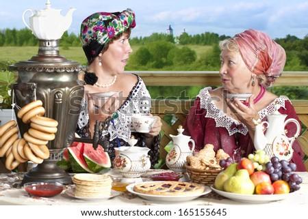 Mature women russian
