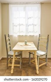 Vintage stylish dining room